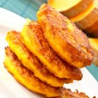 Pumpkin pancakes — Stock Photo #7700625