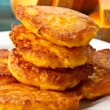 Pumpkin pancakes — Stock Photo #7843527