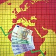 World economic crisis - Europe and Africa - Stock Photo