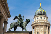 Gendarmenmarkt square, Berlin — Stock Photo