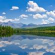 Panorama of lake, Altai, Russia — Stock Photo