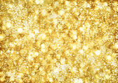 Abstract background of golden lights — Stock Photo