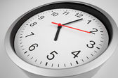 Classic clock macro shot by wide angle lens — Stock Photo