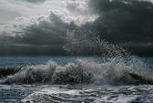 Océano o mar de tormenta — Foto de Stock