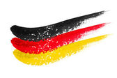 Brushstroke flag Germany — Stock Photo
