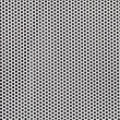 Photo: Silver metal grate background