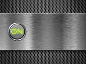 Power on button — Stock Photo