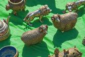 Figurer av djur — Stockfoto