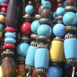 Beads necklaces - Stock Photo