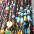 Beads necklaces — Stock Photo