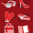 Royalty-Free Stock Vector Image: Female Accessories
