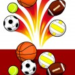 Royalty-Free Stock Vector Image: Sport Balls