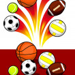 Sport Balls — Stock Vector #7520570
