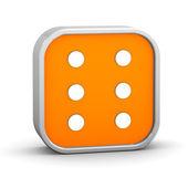 Znak Braille'a — Zdjęcie stockowe