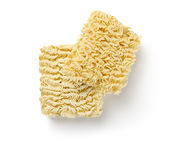 Noodles of fast preparation isolated — Stock Photo