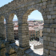 Stock Photo: Aqueduct in Segovia
