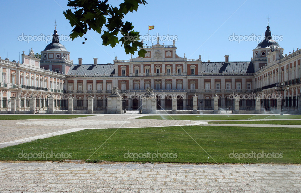 Real palace of Aranjues /Madrid, Spain/ — Stock Photo #7778426