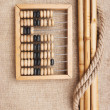 Still Life in a warehouse with  abacus - Stock Photo