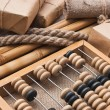 Stockfoto: Still Life in a warehouse with abacus