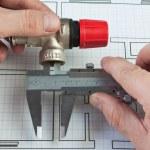Plumbing fixtures — Stock Photo #6926942