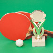 Winning tennis tournaments - Stock Photo