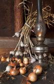 Kerosene lamp — Stock Photo