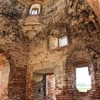 Ruined ancient church — Stock Photo