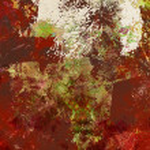 Paint textures on canvas — Stock Photo