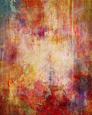 Paint textures on canvas — Stock Photo
