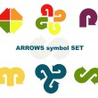 Symbols with arrows. — Stock Vector #7694727