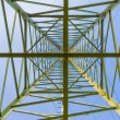Transmission Line Pylon — Stock Photo