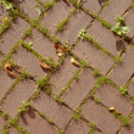 Red terra cotta brick pattern — Stock Photo #6763203