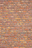 Red brick wall background texture pattren — Stock Photo