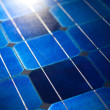 Solar cells pattern background texture - Stock Photo