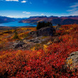 Stock Photo: Fish Lake, Yukon Territory, Canada