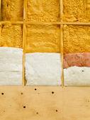 Aislamiento de la pared para ahorrar energía de la calefacción — Foto de Stock