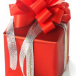Red present box — Stock Photo #7956610