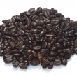 Heap of dark coffee beans — Stock Photo #7958959