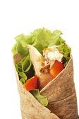 Chicken wrap — Stock Photo