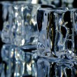 4 ice cubes macro 4 — Stock Photo