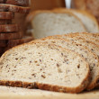Foto de Stock  : Whole grain Sliced bread