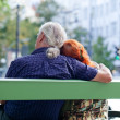Senior couple relaxing — Foto Stock