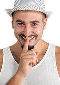 Shhhhh.... Dont tell anyone — Stock Photo