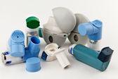 Asthma Inhalers — Stock Photo