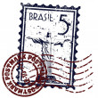 Stock Photo: Vector illustration of Rio de Janeiro Stamp