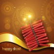 Royalty-Free Stock Vector Image: Artistic diwali crackers