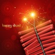 Diwali crackers — Stock Vector #7153475