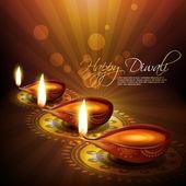 Hindu diwali festival — Stock Vector