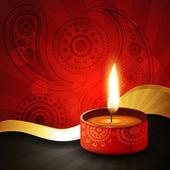 Diwali festival — Stock vektor