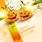 Halloween vector illustration — Stock Vector